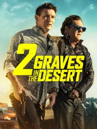 Two Graves in the desert