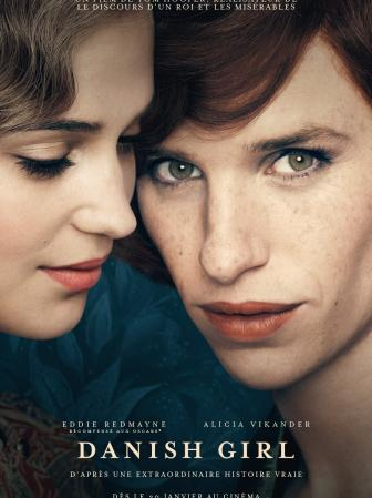 Affiche: The Danish Girl - Eddie Redmayne, Alicia Vikander